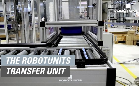 The Robotunits Transfer Unit - variable and energy efficient